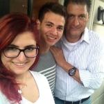 Kızım Dilara ve Oğlum Jon ile Birlikte